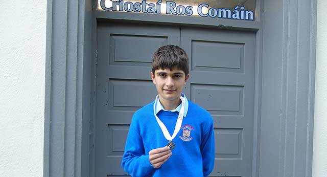 CBS Student takes Silver in National Athletics Championships